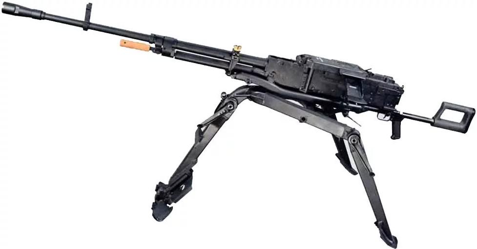 Самый мощный серийный пулемёт